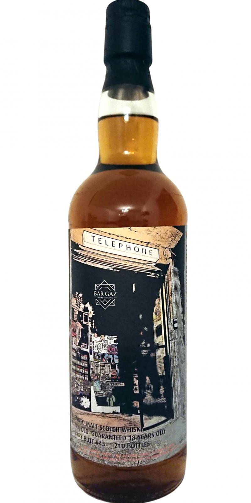 Blended Malt Scotch Whisky 18-year-old TWA