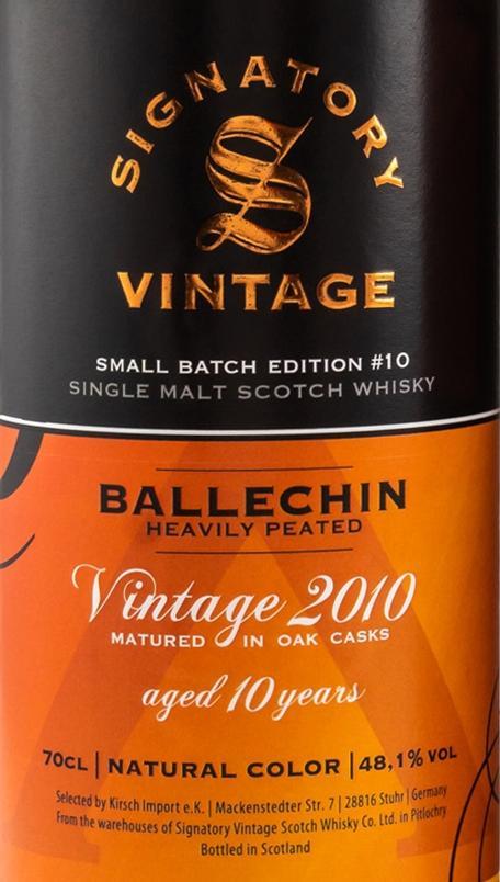 Ballechin 2010 SV