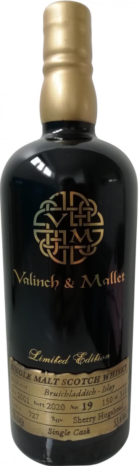 Bruichladdich 2001 V&M