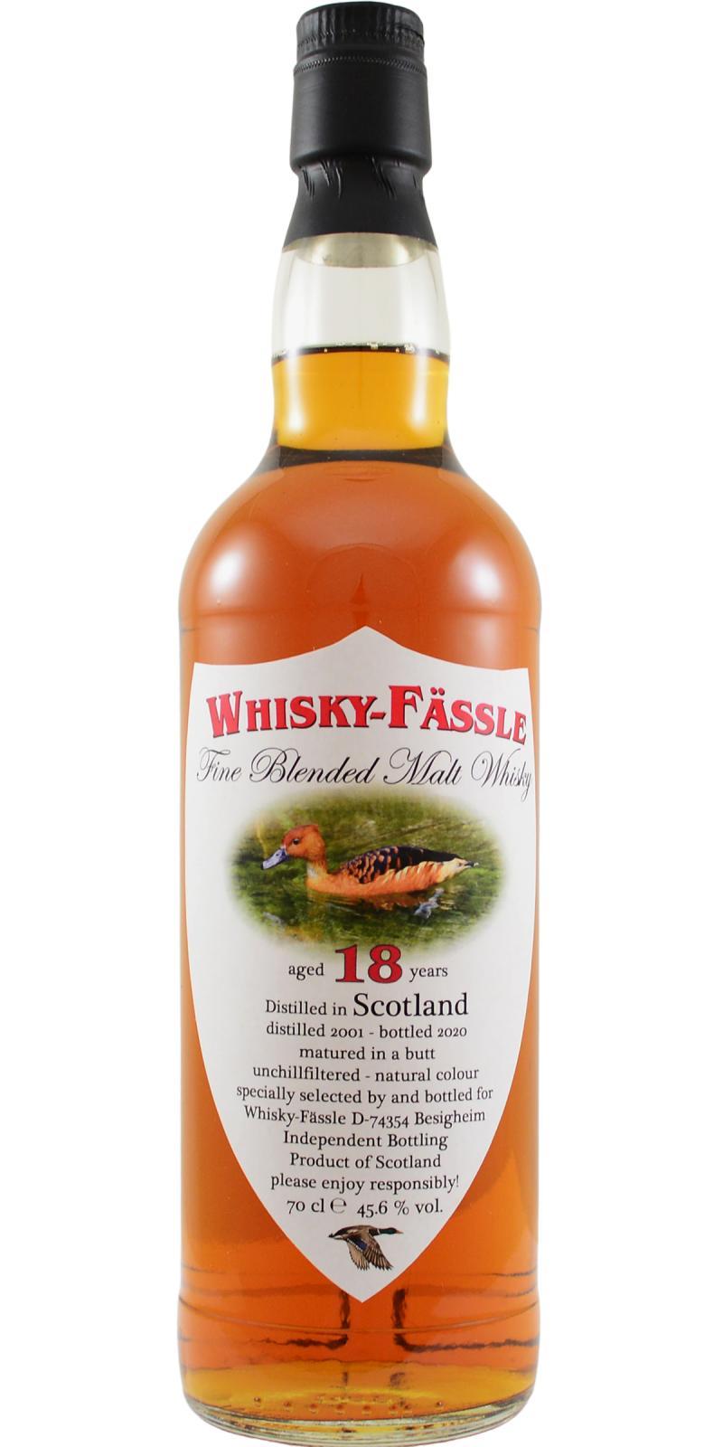 Fine Blended Malt Whisky 2001 W-F