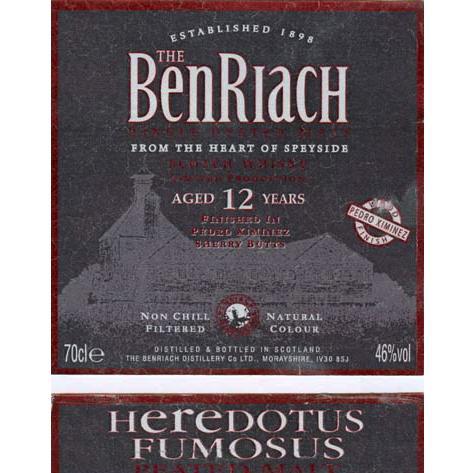 BenRiach Heredotus Fumosus