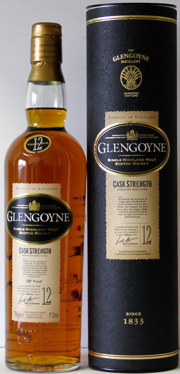 Glengoyne Cask Strength - 100° Proof