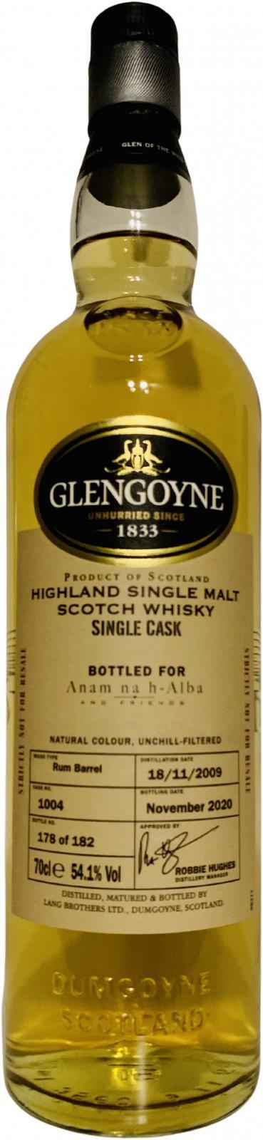 Glengoyne 2009