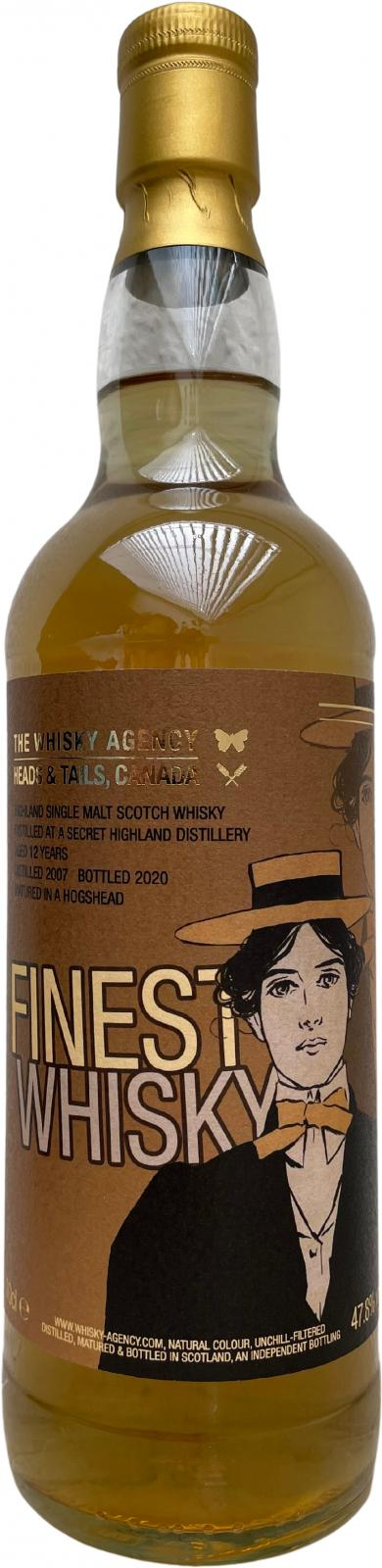 Secret Highland Distillery 2007 TWA