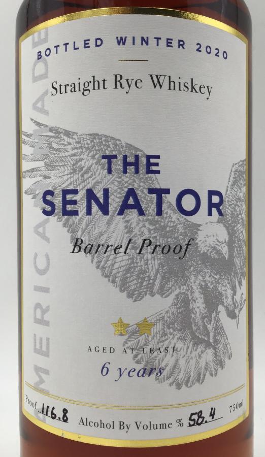 Proof and Wood The Senator