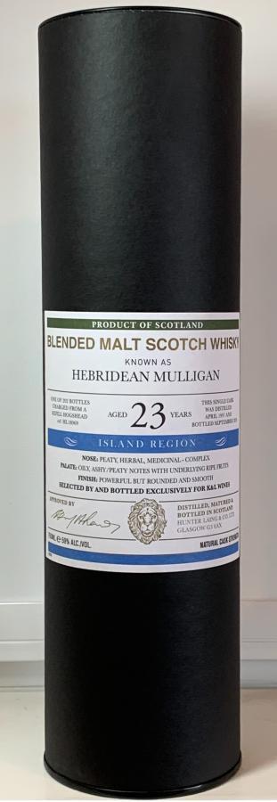 Blended Malt Scotch Whisky 1997 HL