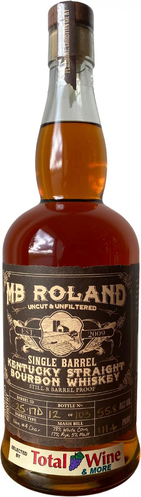 MB Roland Single Barrel Bourbon
