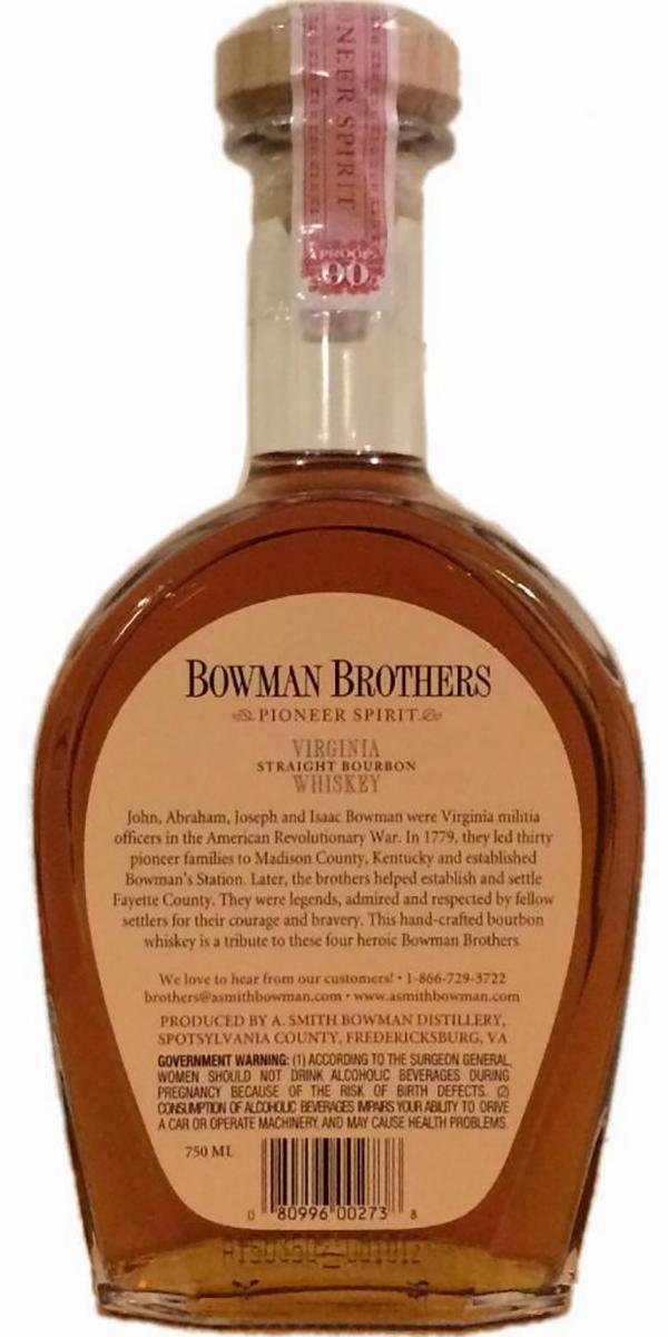 Bowman Brothers NAS