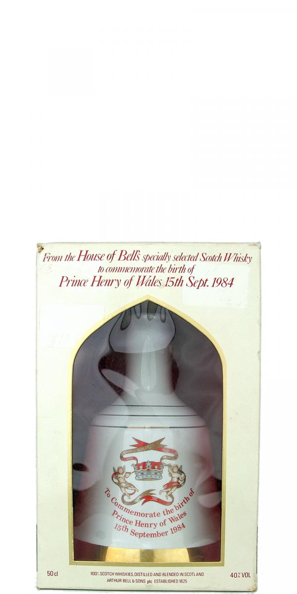 Bell's To Commemorate the birth of Prince Henry of Wales 1984