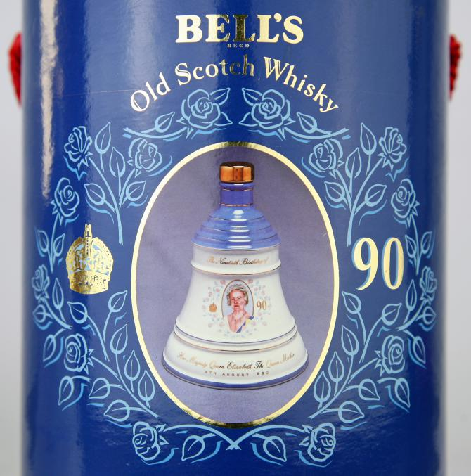 Bell's 90th Birthday of Queen Elizabeth The Queen Mother