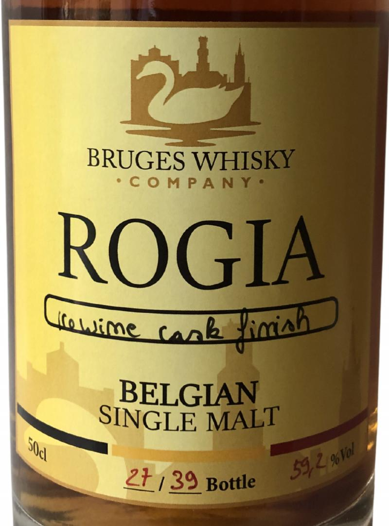 Bruges Whisky Company Rogia