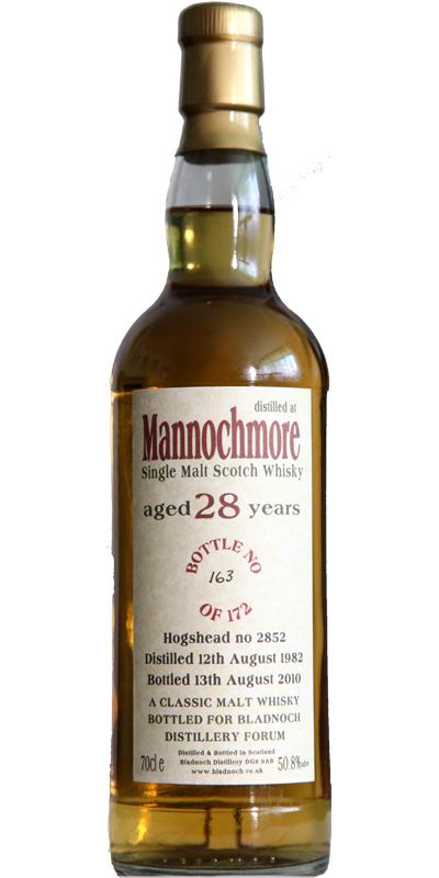 Mannochmore 1982 BF