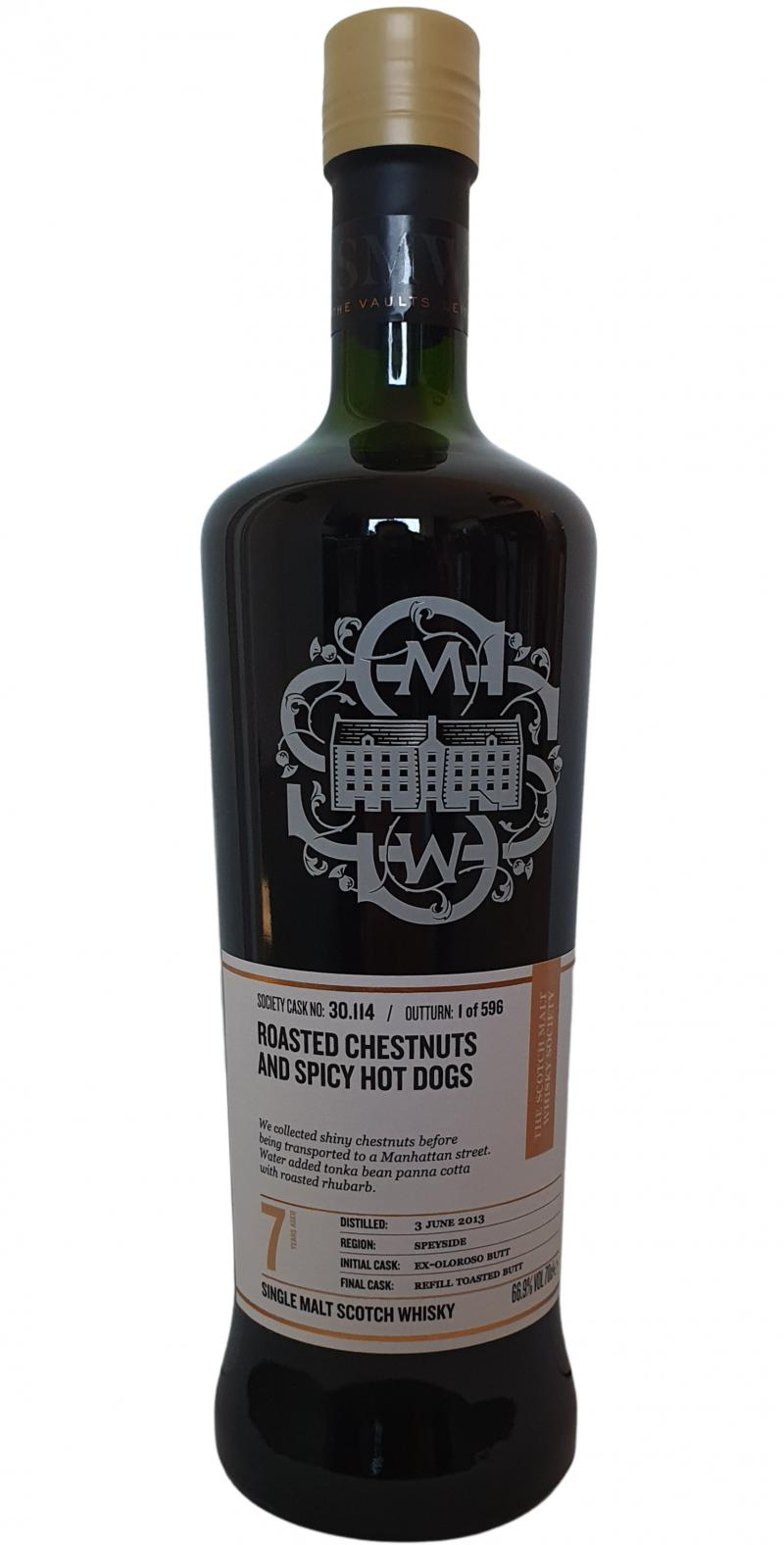 Glenrothes 2013 SMWS 30.114
