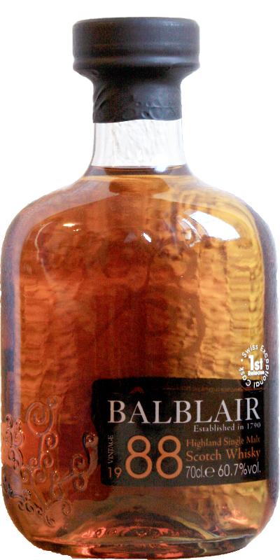 Balblair 1988 Single Cask