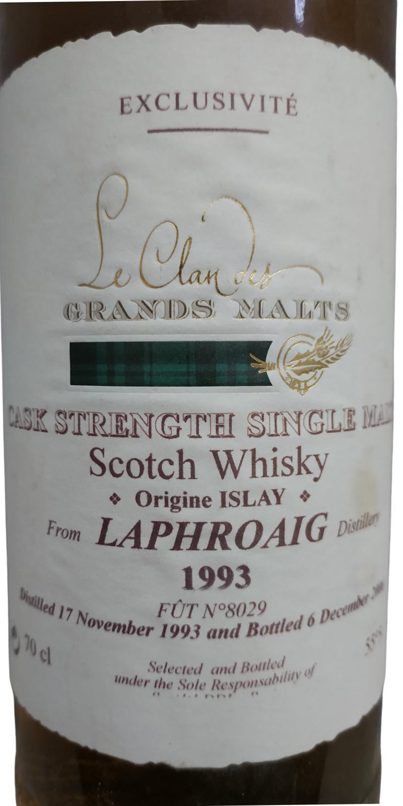 Laphroaig 1993 SD