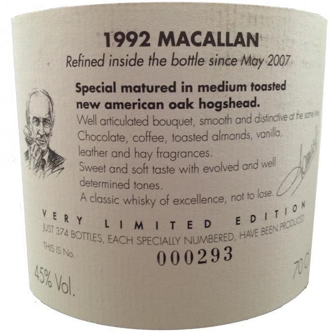 Macallan 1992 Sa