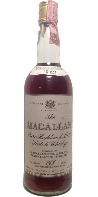 Macallan 1960