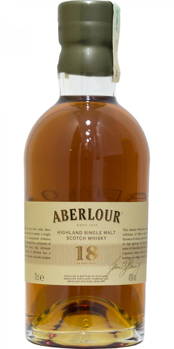 Aberlour 18-year-old