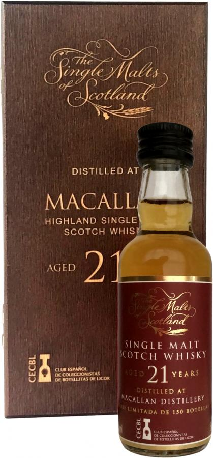 Macallan 21-year-old ElD