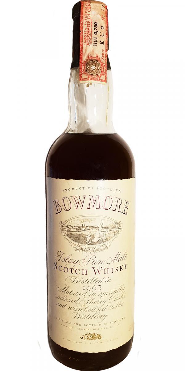 Bowmore 1963