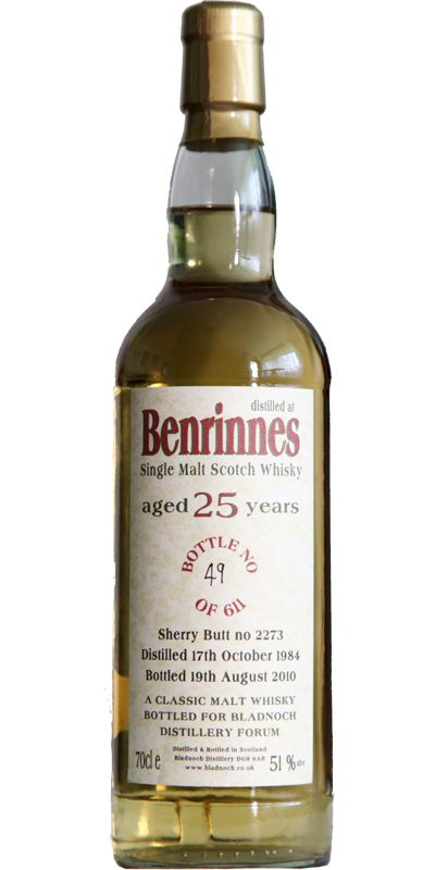 Benrinnes 1984 BF