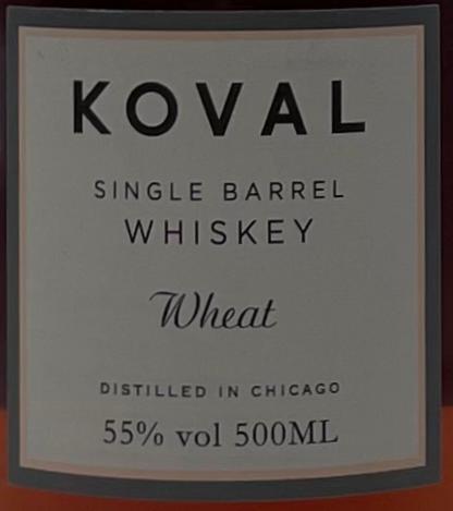 Koval Single Barrel - Wheat