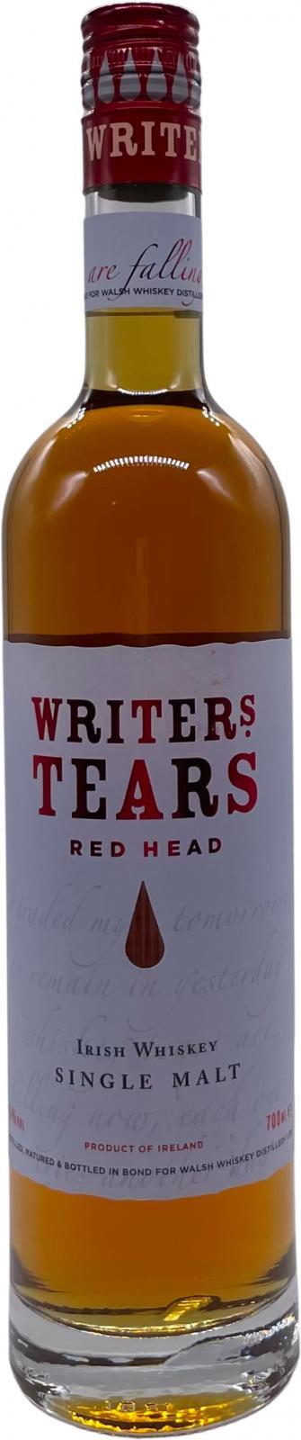 Writer's Tears Red Head