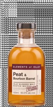 Peat & Bourbon Barrel Islay Blended Malt Scotch Whisky ElD
