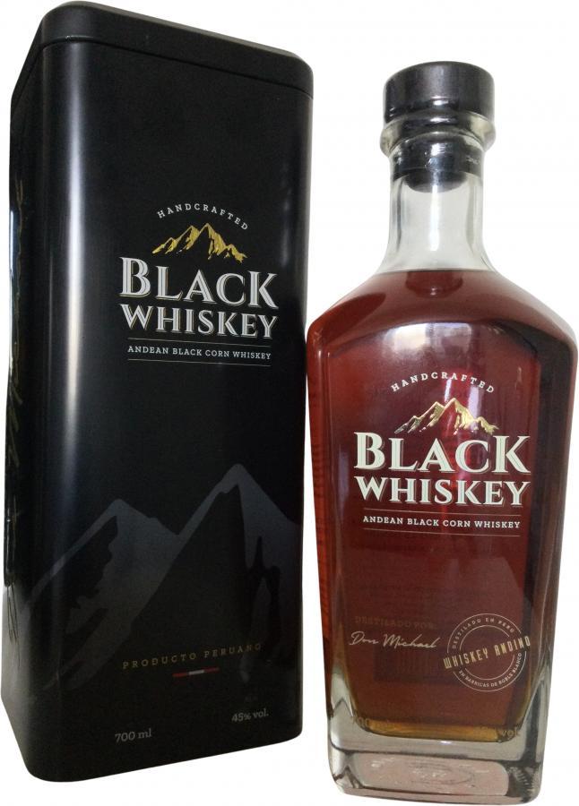 Black Whiskey Andean Black Corn Whiskey