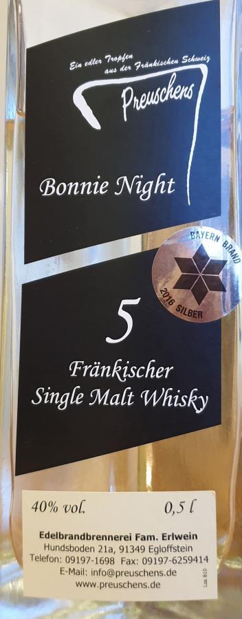 Bonnie Night 2013