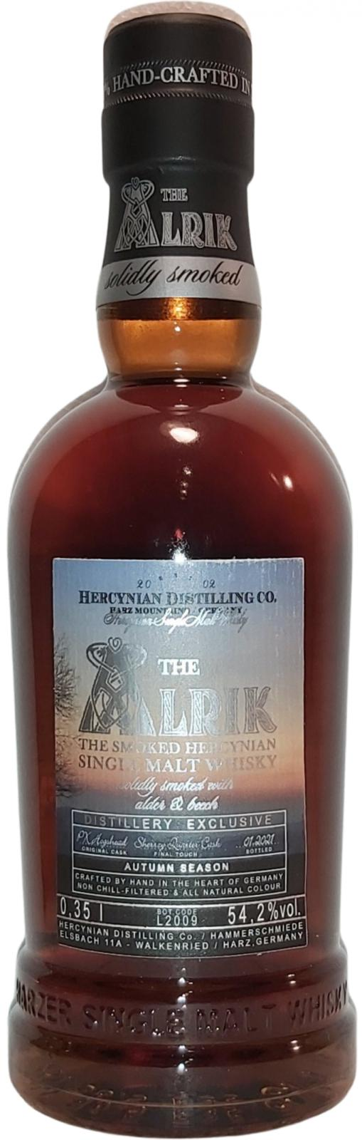 The Alrik 4 Seasons - Distillery Exclusive