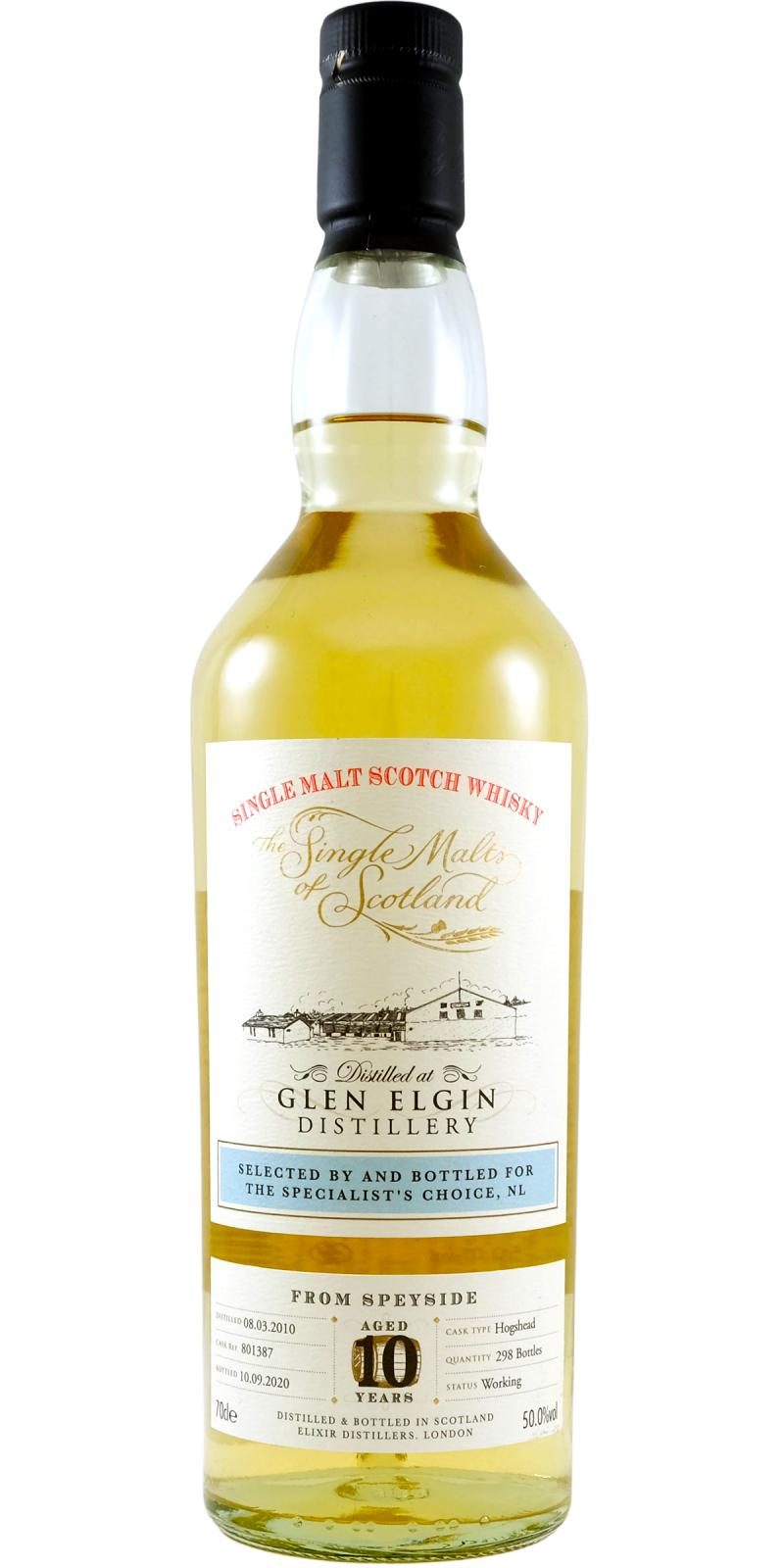 Glen Elgin 2010 ElD