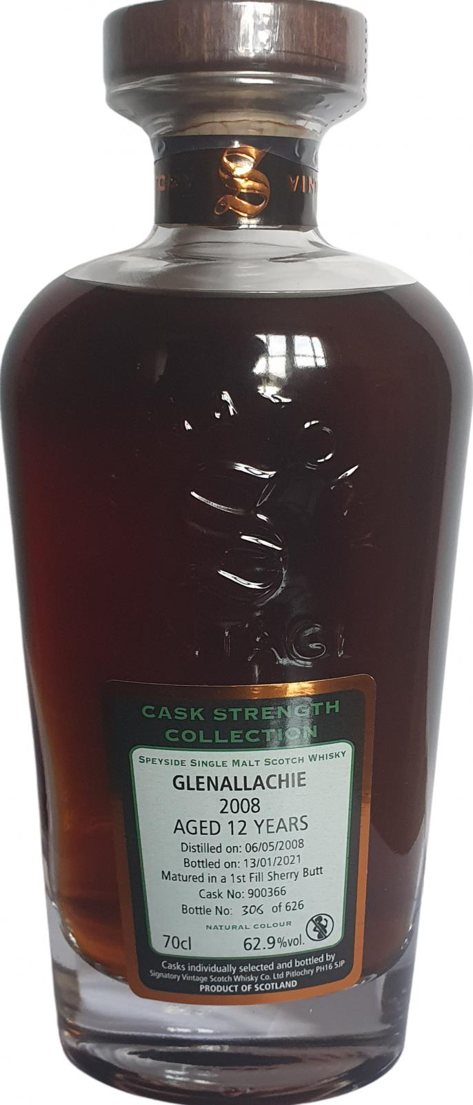 Glenallachie 2008 SV