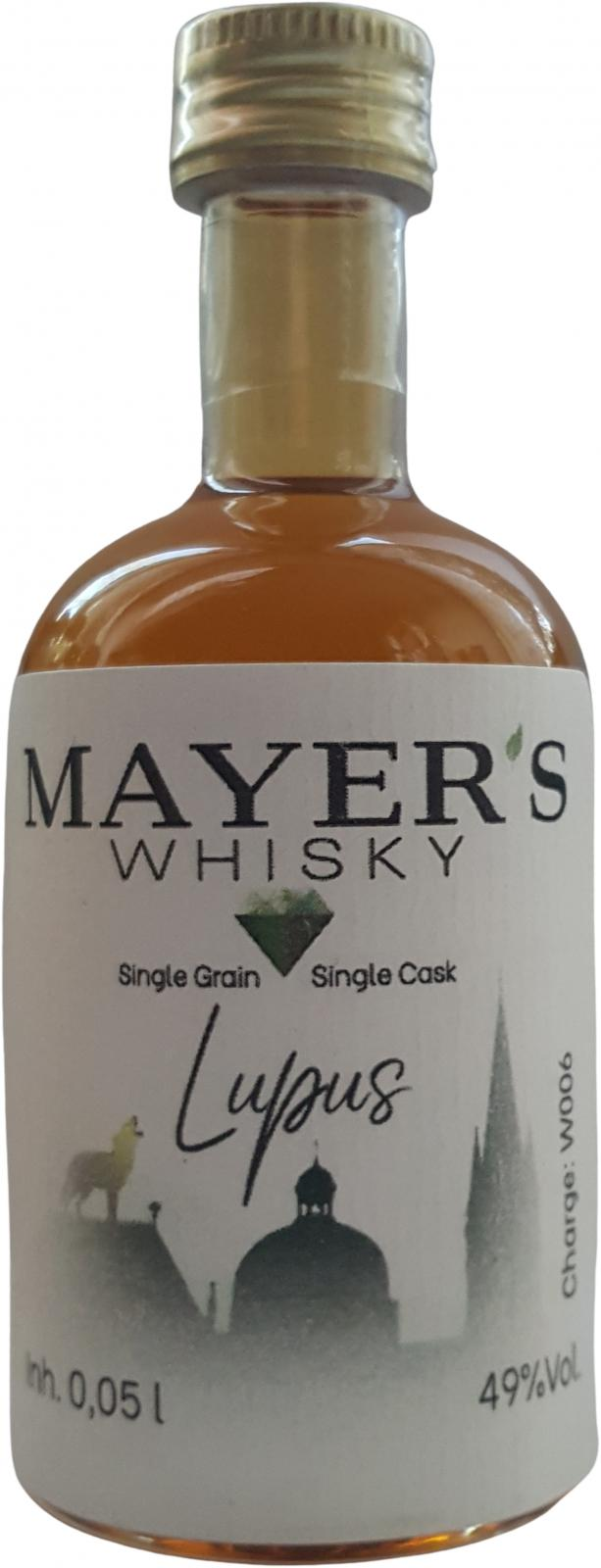 Mayer's 2016