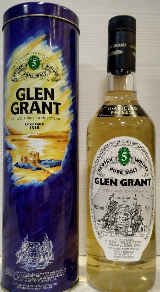 Glen Grant 1982