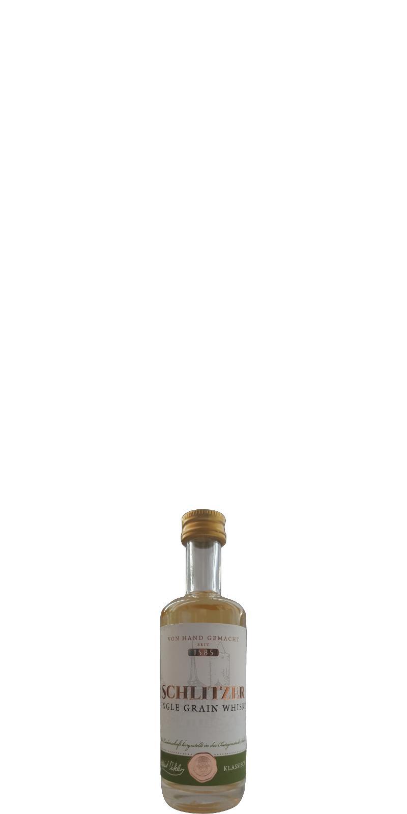 Schlitzer Single Grain Whisky