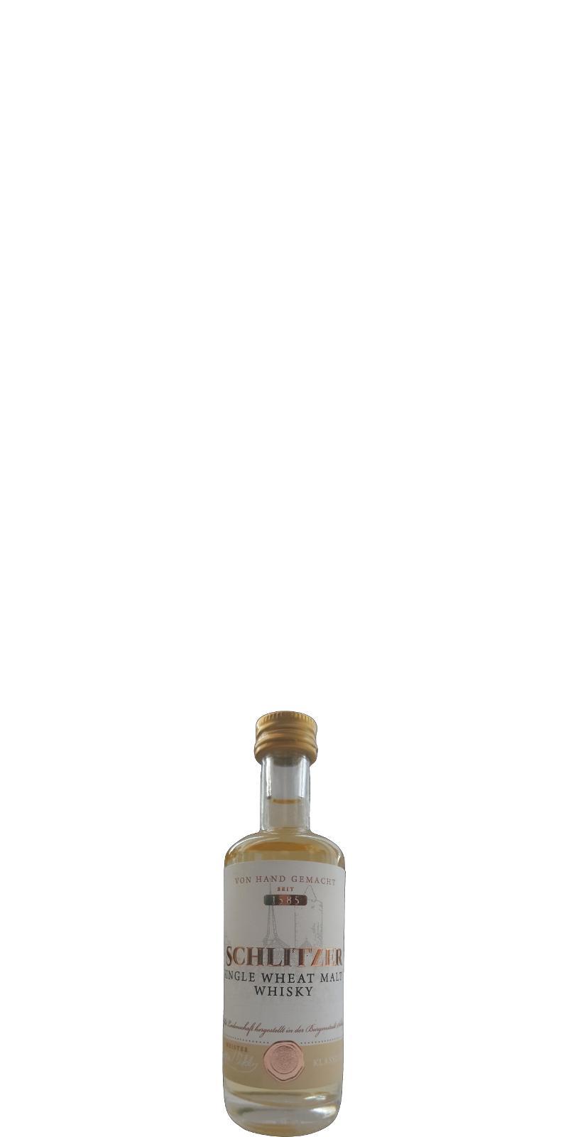 Schlitzer Single Wheat Malt Whisky