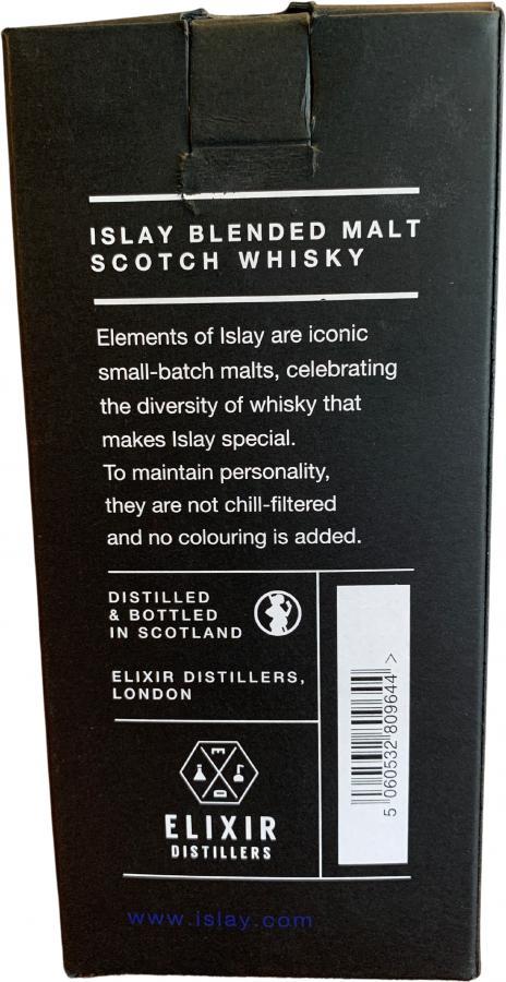 Peat & Sherry Islay Blended Malt Scotch Whisky ElD