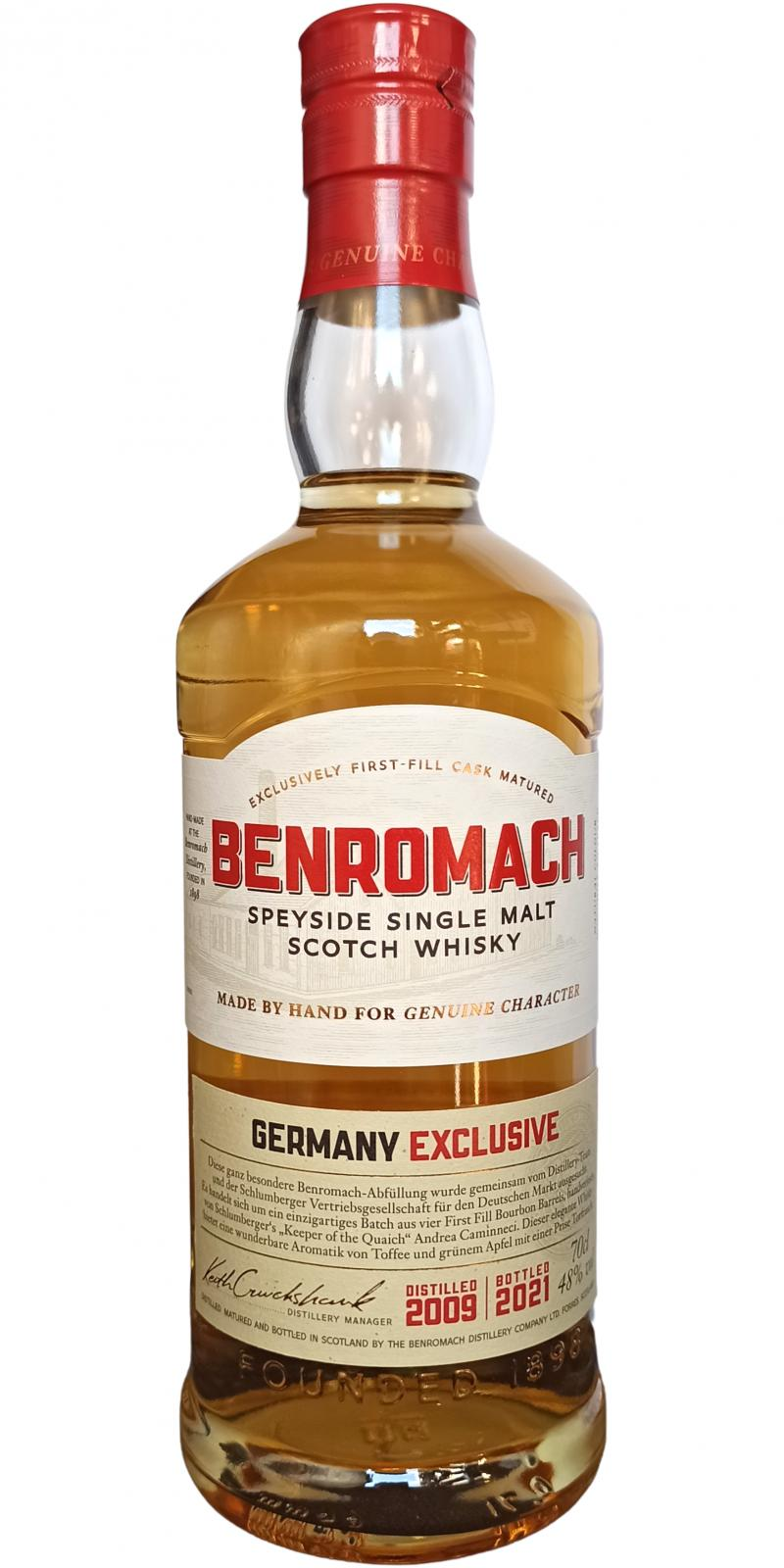 Benromach 2009