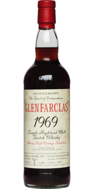 Glenfarclas 1969