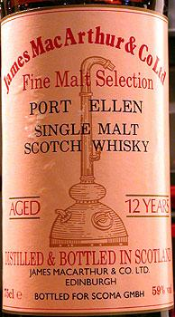 Port Ellen 12-year-old JM