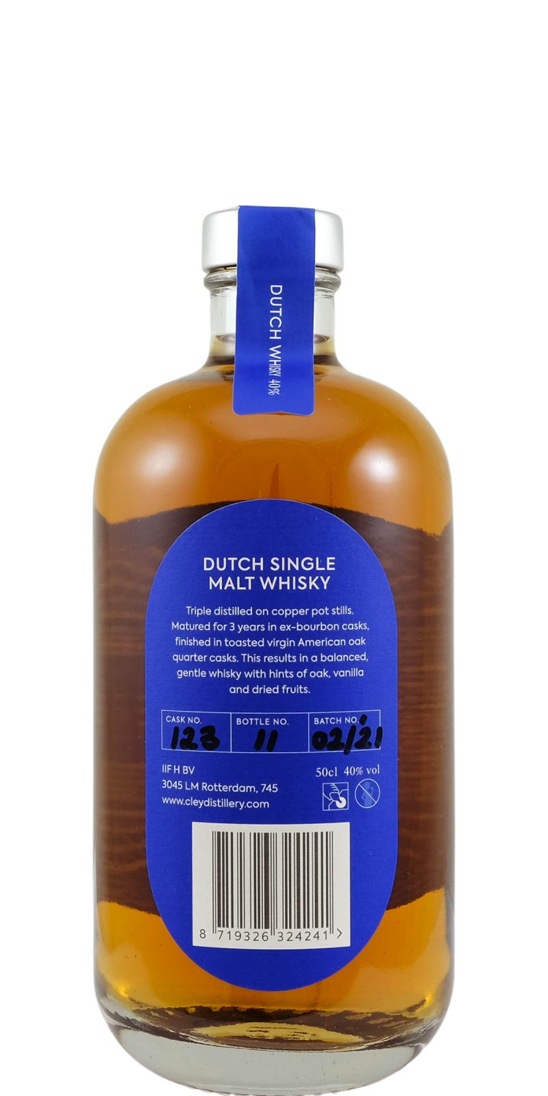 Cley Whisky Dutch Single Malt Whisky