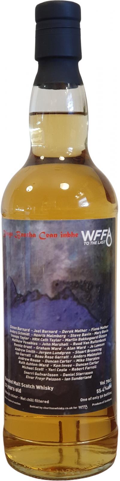 Blended Malt Scotch Whisky 22-year-old WFFA