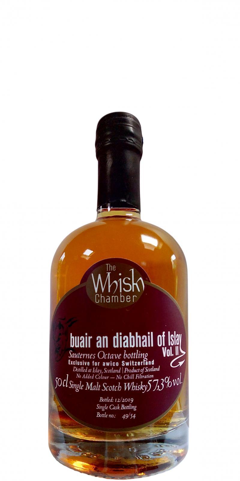 buair an diabhail of Islay Special ex Sauternes cask bottling Vol. II