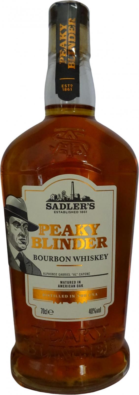 Peaky Blinder Bourbon Whiskey Sad