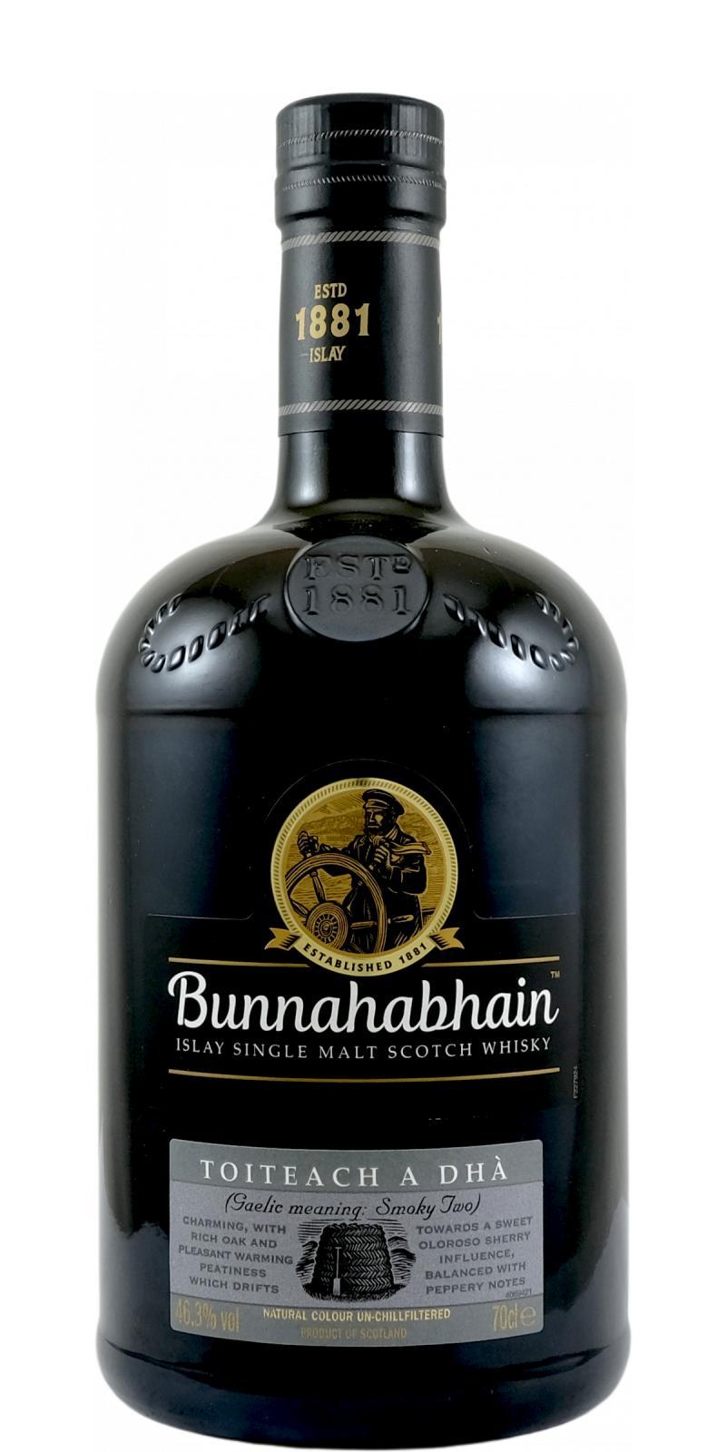 Bunnahabhain Toiteach a Dhà