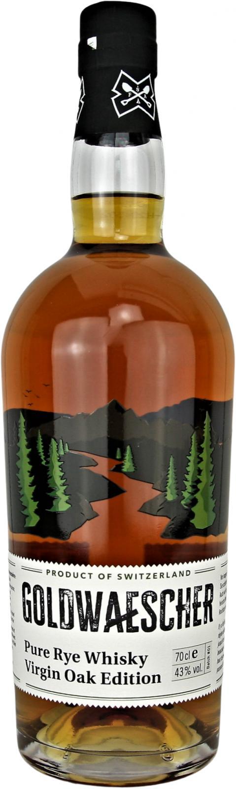 Goldwaescher Pure Rye Whisky