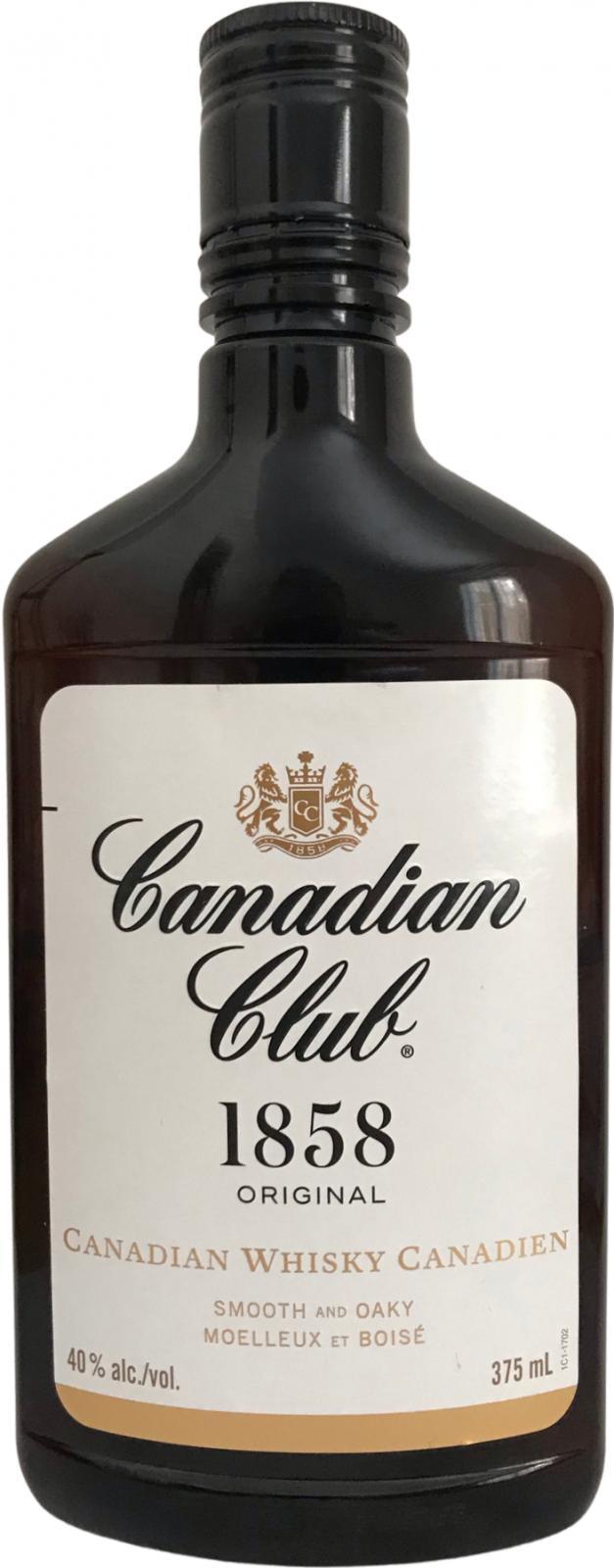Canadian Club 1858 Original