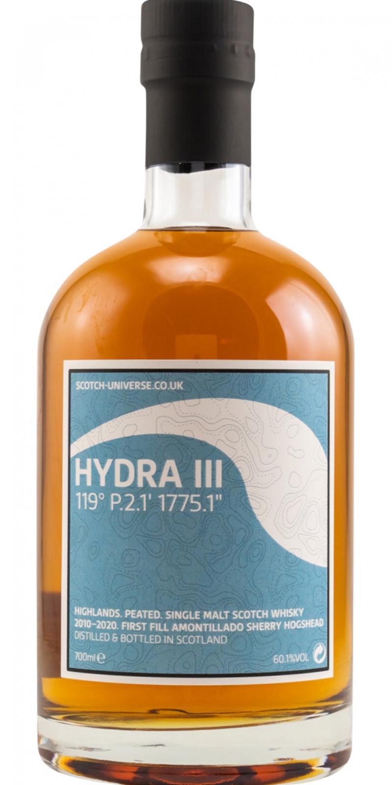 "Scotch Universe Hydra III - 119° P.2.1' 1775.1"""