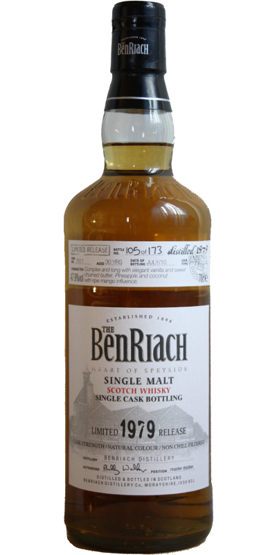 BenRiach 1979